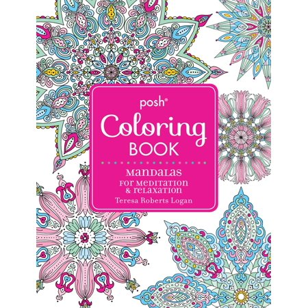 Posh Adult Coloring Book: Mandalas for Meditation & Relaxation (Halloween Mandalas Coloring)