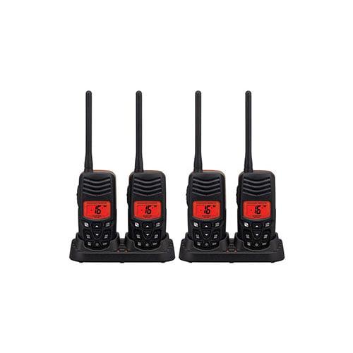 Standard Horizon HX100 (4 Pack) Handheld VHF Radio Twin Pack by Standard Horizon