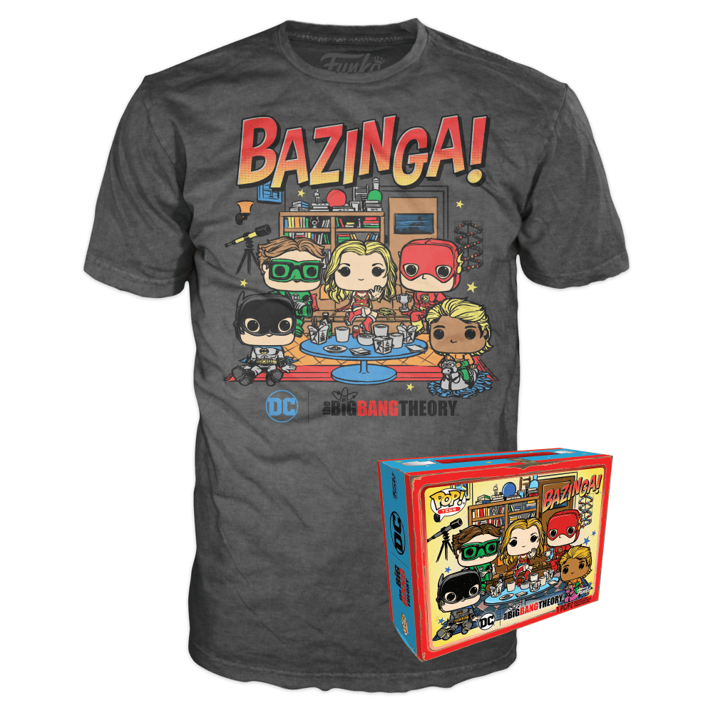 Funko Boxed Tee: The Big Bang Theory - Big Bang Comic - M - Summer Convention Exclusive