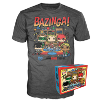 Funko Boxed Tee: The Big Bang Theory - Big Bang Comic - M - Summer Convention Exclusive