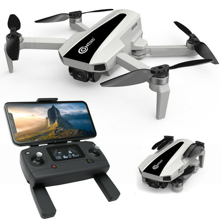 Contixo F31 Pocket Drones with Camera for Adults, 4K Gimbal Camera Drone, Lightweight, Long Flight Time, Follow Me, Brushless Motors, 5GHz FPV Transmission, GPS Auto Return Home, 2021 Release