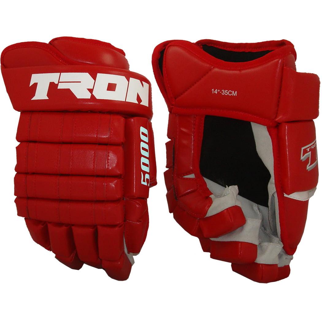 Tron 5000 Hockey Gloves (Red)