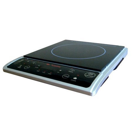 Sunpentown 1,300W Induction Cooktop, Silver