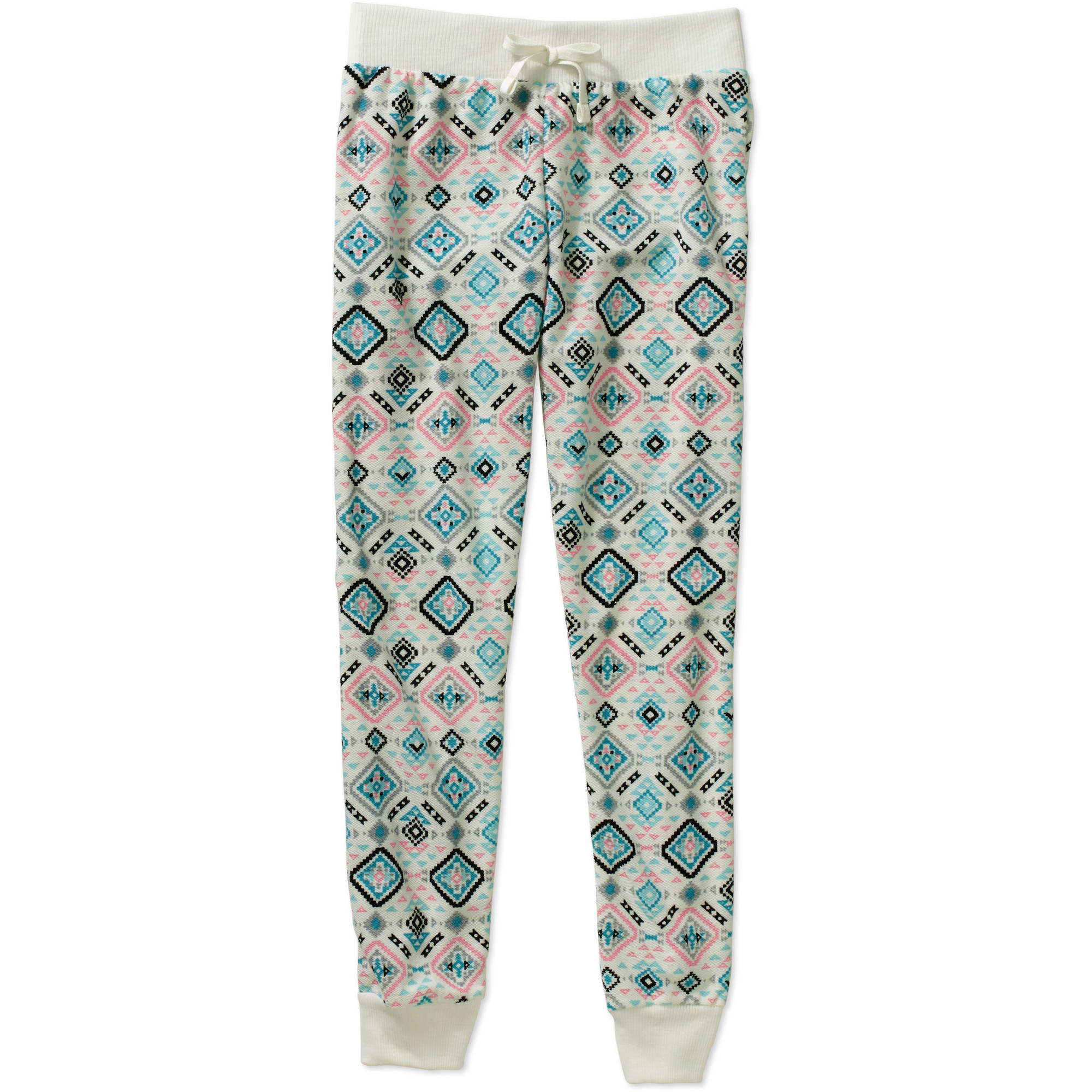 One Step Up Girls' Aztec Boutique Printed Loop Terry Jogger Pant