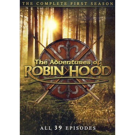 Mill Creek Studios Adventures Of Robin Hood S1 Dvd Std Ff