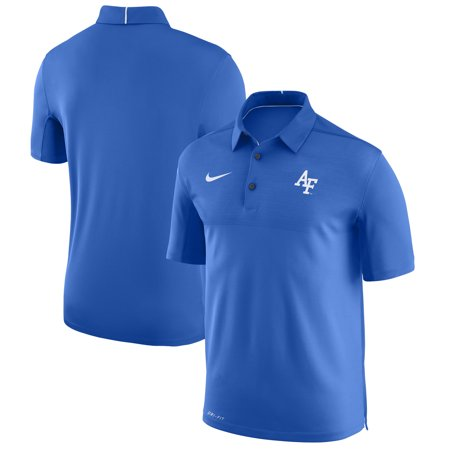 Air Force Falcons Nike Elite Coaches Sideline Dri-FIT Polo - (Nike Mens Elite Dri Fit Basketball 9 Shorts)