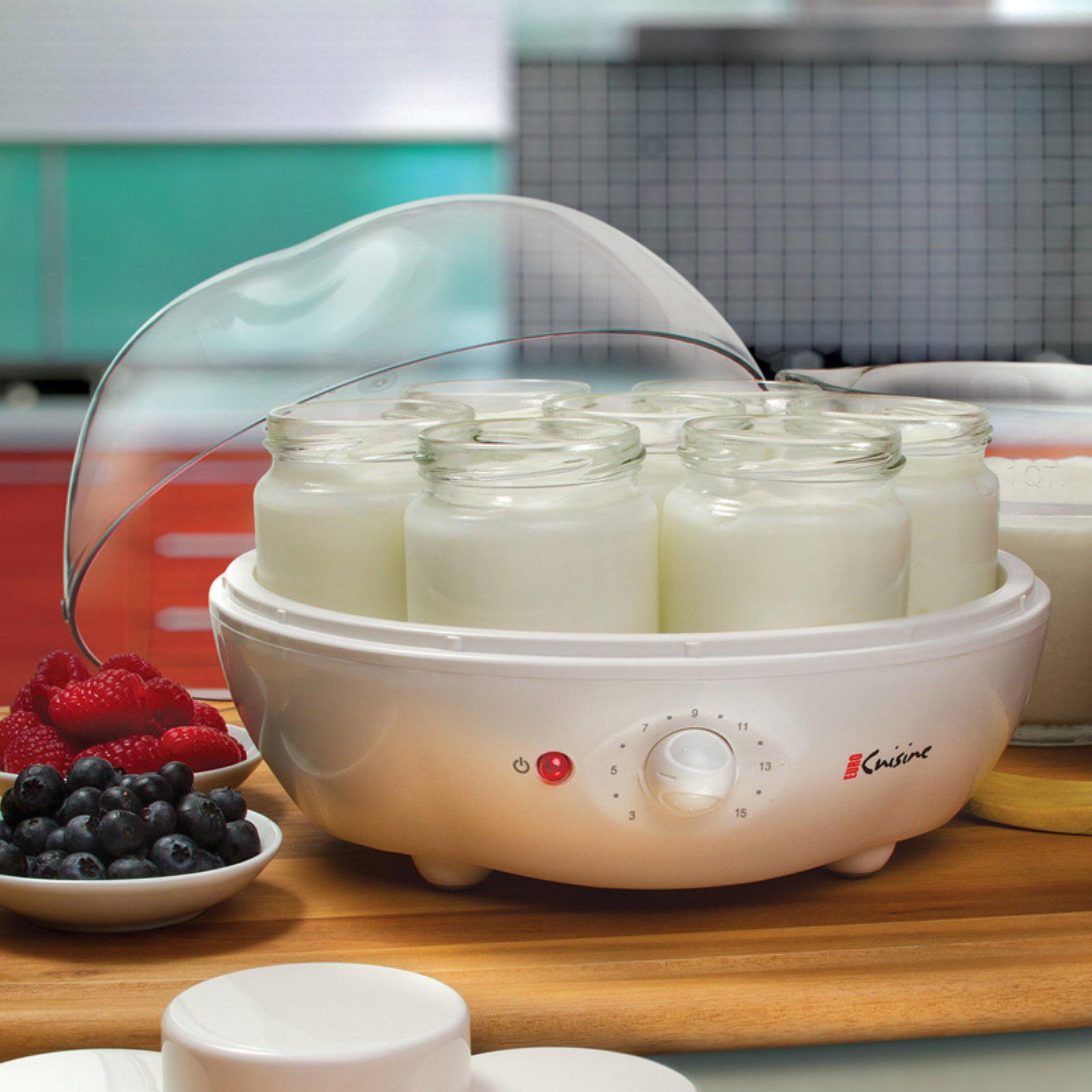 Euro Cuisine YM100 Automatic Yogurt Maker