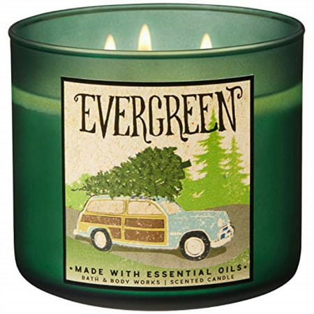Bath and Body Works 2018 Holiday Limited Edition 3-Wick Candle