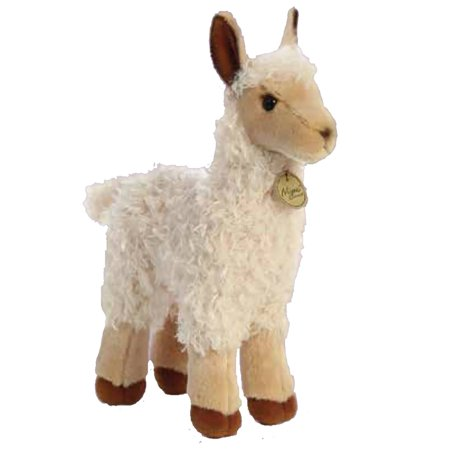 Llama Tan Miyoni 12 inch - Stuffed Animal by Aurora Plush (26351) - Llama Stuffed Animal