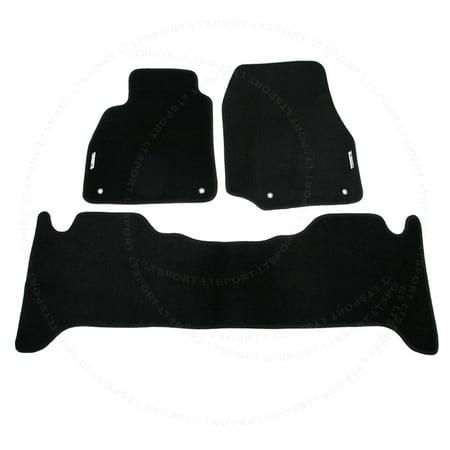 For 98-07 Lexus LX470 Custom Fit Premium Nylon Black Floor Mats Carpet For 1998 1999 2000 2001 2002 2003 2004 2005 2006 1999 Exclusive Car Mats