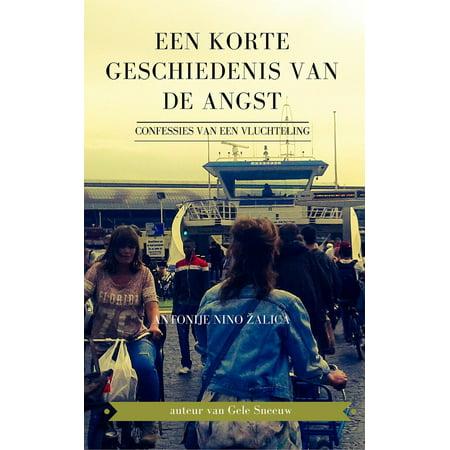 Een korte geschiedenis van de angst (confessies van een vluchteling) - eBook