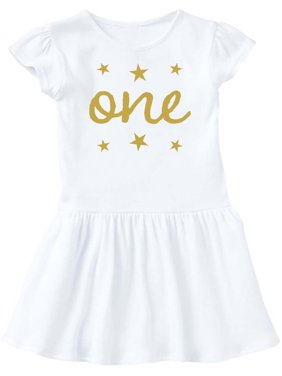 d20bbbfe1007 Product Image 1st Birthday Outfit One Gold Infant Dress
