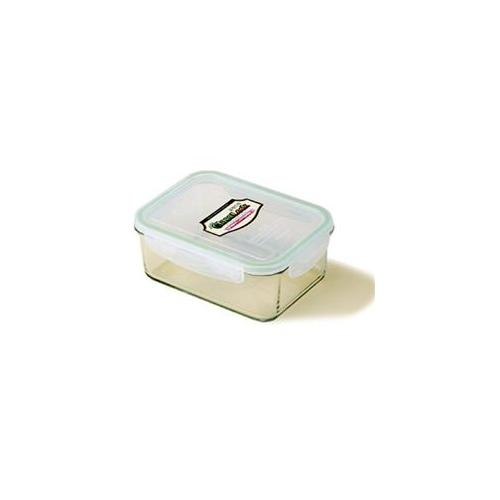 Kinetic 1311 37 oz Rectangular Kinetic Go Green Glasslock Container
