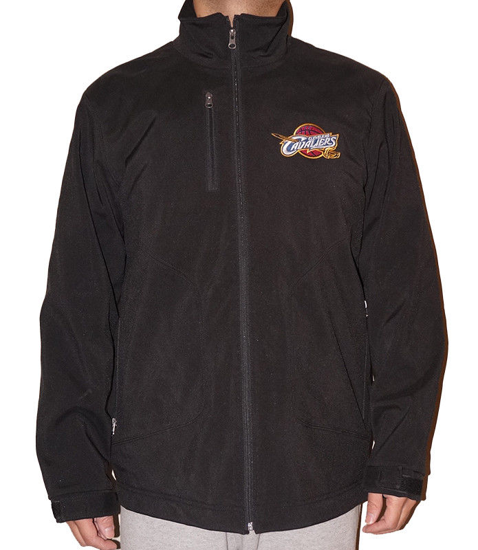 Cleveland Cavaliers G-III NBA Men's Soft Shell Jacket with Fleece Lining by G-III