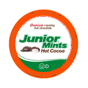 Junior Mints Chocolate Mint Pods Hot Cocoa for Keurig K-Cup Brewers, 12 Count (Pack of 6)