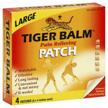 Tiger Balm Pain Relieving Large 4 Each