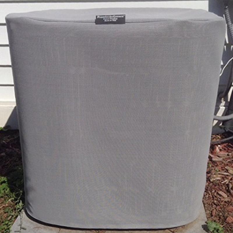 Breathable Tight Mesh Air Conditioner Cover - PremierAcCo...