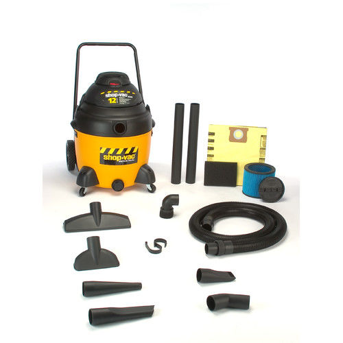Shop-Vac 9241810 18 Gallon 12 Amp Industrial SR Dolly Style Wet/Dry Vacuum