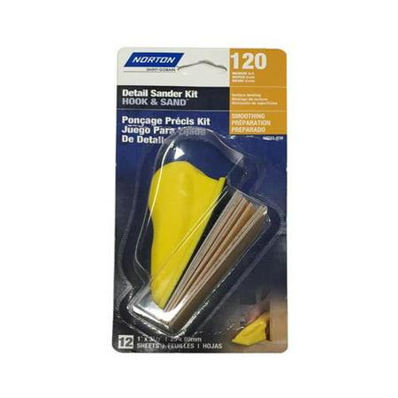 Ali Industries 50231 038 12Pk 120G Hook Loop Kit