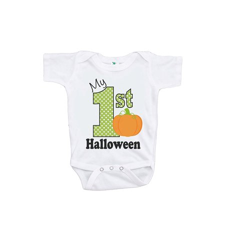 Custom Party Shop Baby's My First Halloween Onepiece - 6-12 Month (Baby's First Halloween Party Ideas)