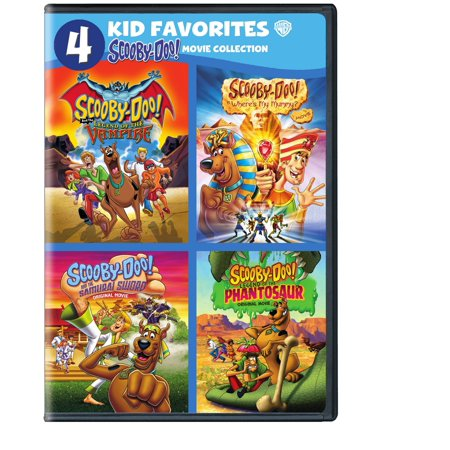 4 Kids Favorites: Scooby Doo! (DVD) - Fairies Movies For Kids