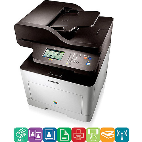 Samsung CLX6260FW CLX-6260FW Wireless Multifunction Laser Printer, Copy/Fax/Print/Scan