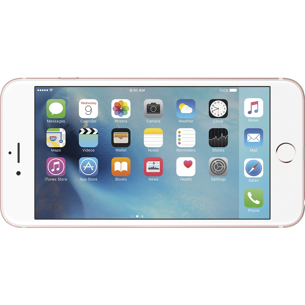 Refurbished Apple IPhone 6S Plus 16GB Rose Gold LTE Cellular ATT MKW82LL A