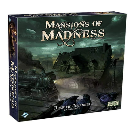 Mansions of Madness - Horrific Journeys Expansion Strategy Board