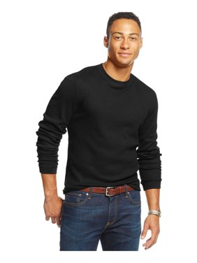 Club Room Mens Thermal LS Pullover Sweater