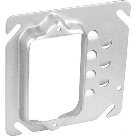 2 Pcs, Steel Offset Device Ring, One Gang, 5/8 In. Raised to Move Switch, Outlet Or Plug to One Side Of Box Away From Obstacles Present On Job, Or For Easier Wiring (Wiring A Switch From An Existing Outlet)