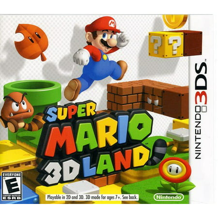 Super Mario 3D Land, Nintendo, Nintendo 3DS, 045496741723](Super Paper Mario Fire Tablet)