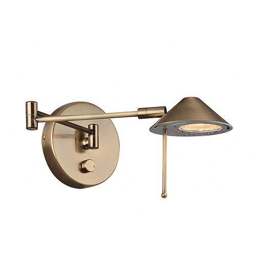 Rhine Swing-Arm Halogen Wall Lamp