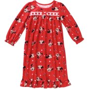 Minnie Mouse Toddler Girls' Long Sleeve Nightgown
