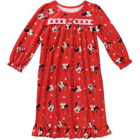 Toddler Girls' Long Sleeve Nightgown
