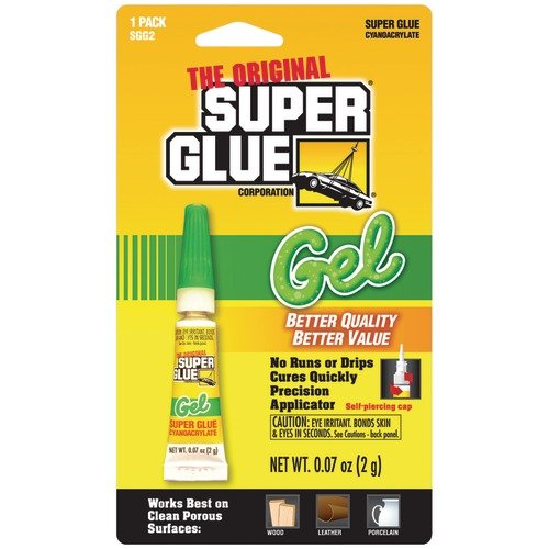 Super Glue SGCSGG2M SUPER GLUE SGG2-48 THICK GEL SUPER GLUE TUBE