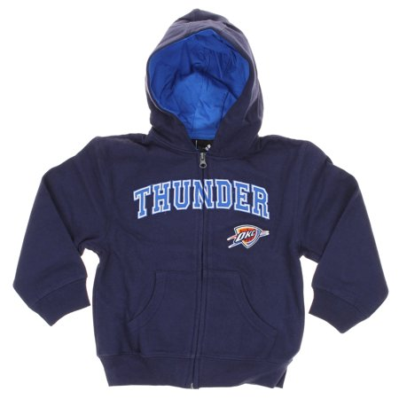 new styles 62629 aa787 Adidas NBA Infants Oklahoma City Thunder Full Zip Sweater Hoodie, Navy
