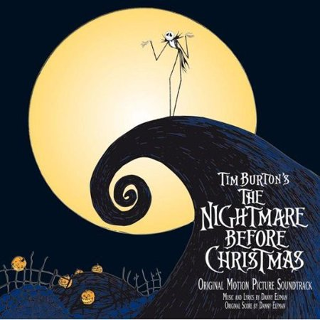 The Nightmare Before Christmas (Original Motion Picture Soundtrack) (CD) (Halloween Music Nightmare Before Christmas)