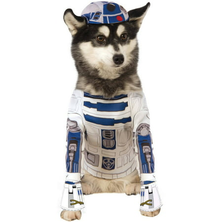 Star Wars R2D2 Pet Costume L](Rock Star Dog Costume)
