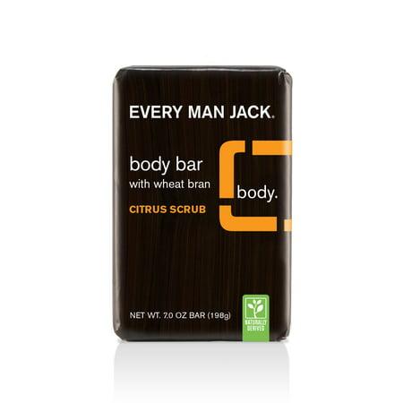 Every Man Jack Body Bar, Citrus, 7 oz