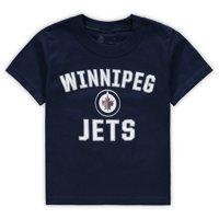 Winnipeg Jets Fanatics Branded Toddler Team Victory Arch T-Shirt - Navy