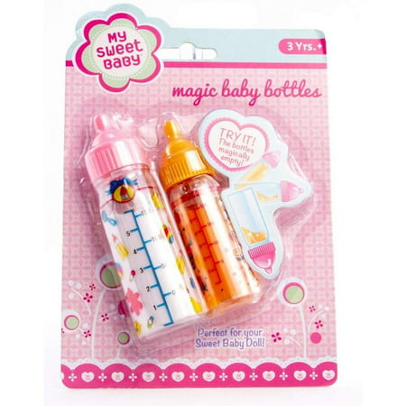 Toysmith My Sweet Baby Magic Baby Doll Bottles