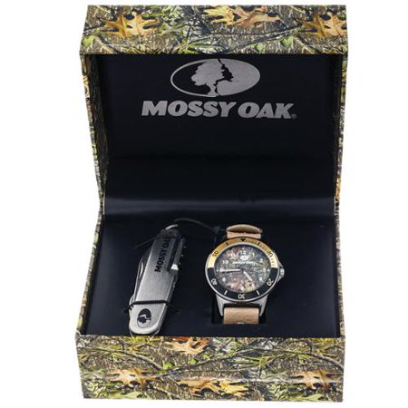 Mossy Oak Men S Camo Officially Infinity Beige Watch With