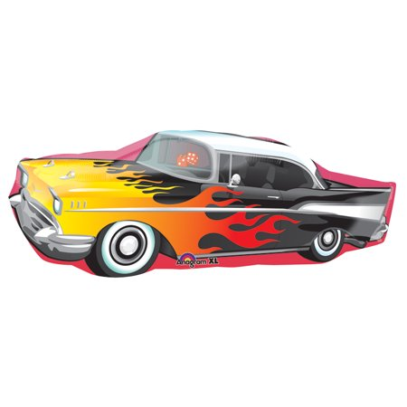 Anagram Old-Fashioned Rock n' Roll Flames Car 35