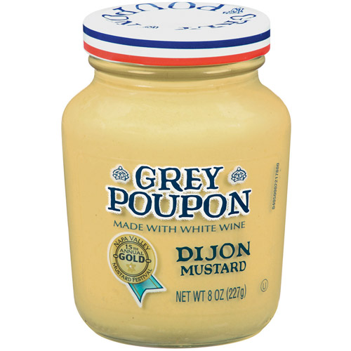 Grey Poupon: Dijon Mustard, 8 oz