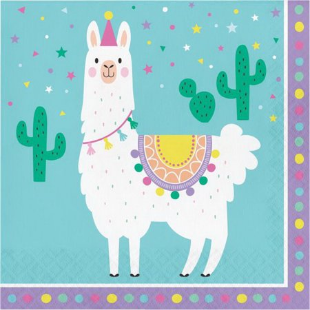 Creative Converting 339579 Llama Party Luncheon Napkin, CASE of - Creative Ideas For Halloween Parties