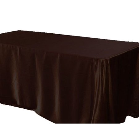 126 x 60 inch Rectangular Satin Tablecloth Wedding Party SEAMLESS Table Cover