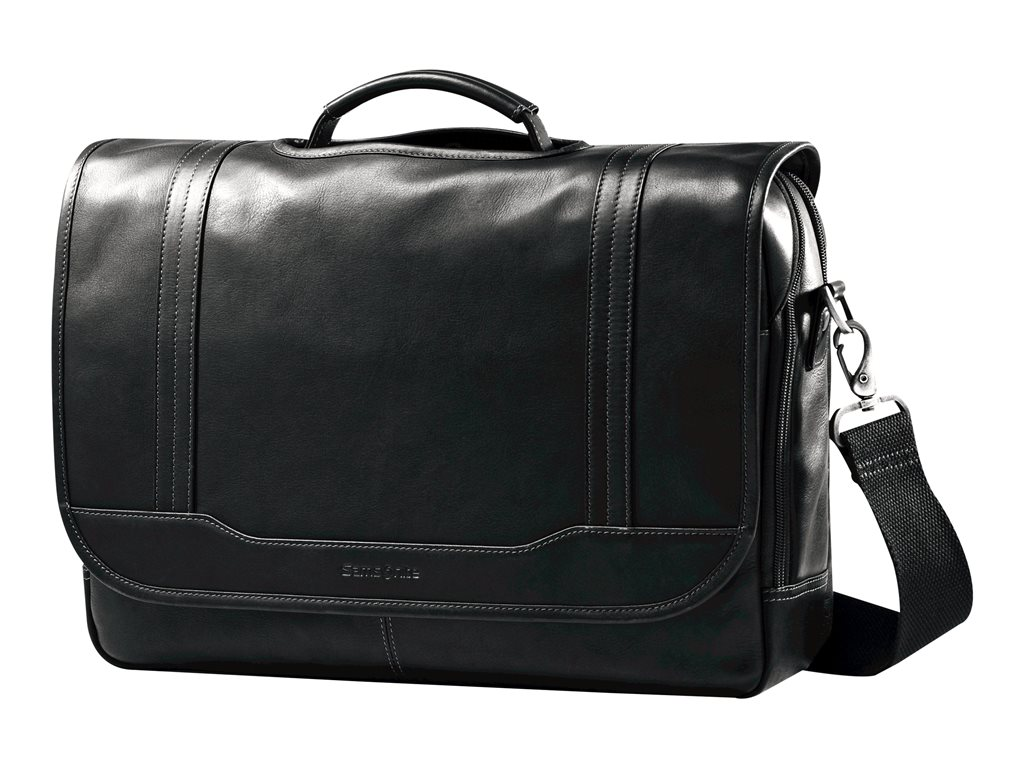 Samsonite Colombian Leather Briefcase Black Durham Colombian Leather Briefcases by Samsonite