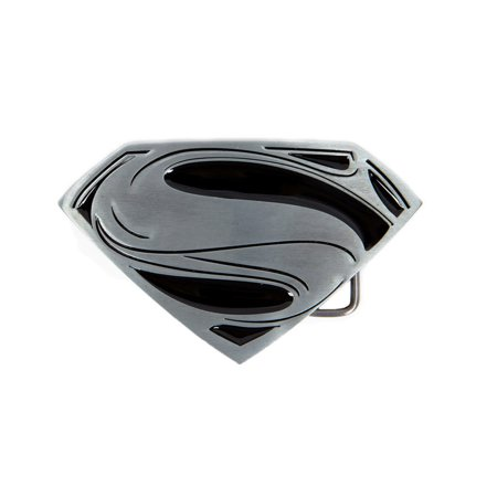 DC Comics Superman Logo Enamel Inlay Belt Buckle
