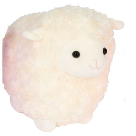 Kellytoy Easter 10 inch Cream Fatty Lamb Plush](Ice Cream Plush)