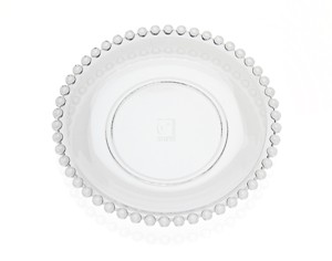 8.5\  Chesterfield Non-Leaded Crystal Pearl Design Dessert Plates Set of 4  sc 1 st  Walmart & 8.5\